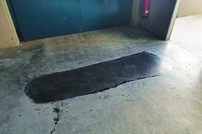 Boden zu glatt für Büroarbeitsplätze?
